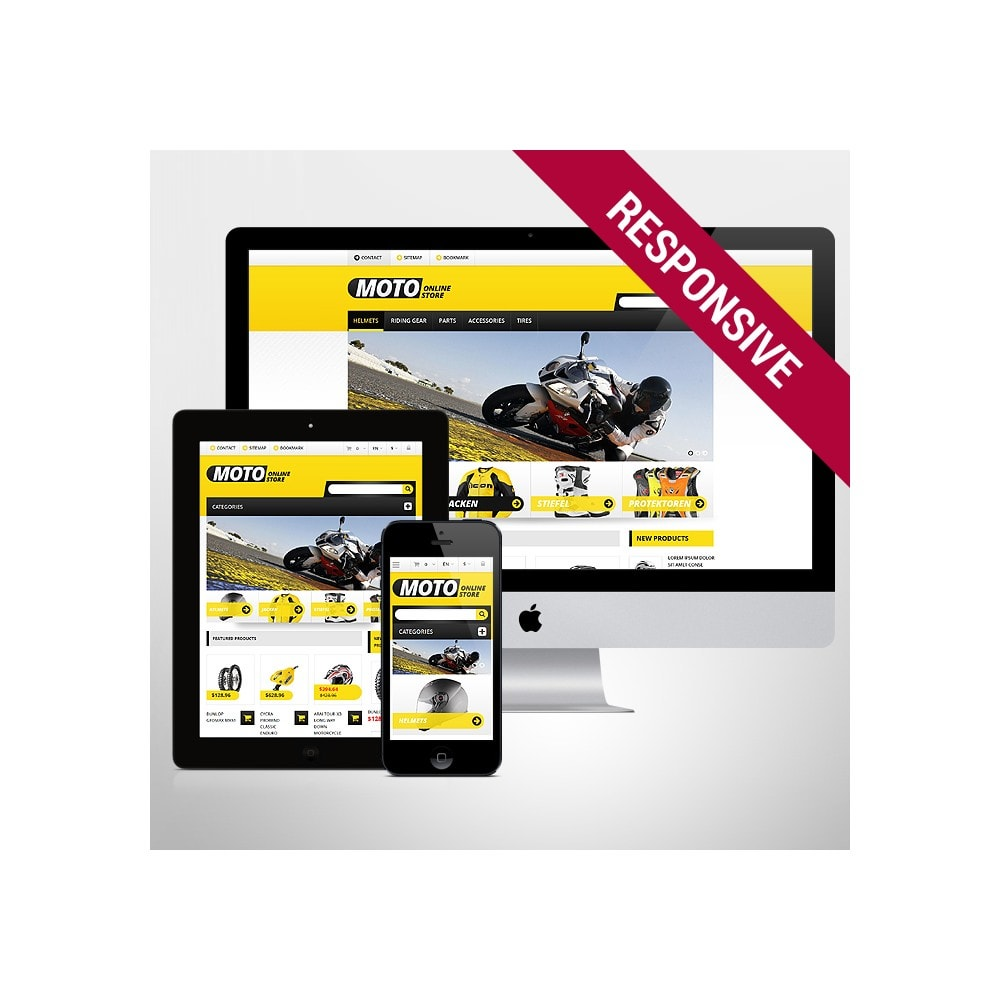theme - Coches y Motos - Responsive Online Moto Store - 1