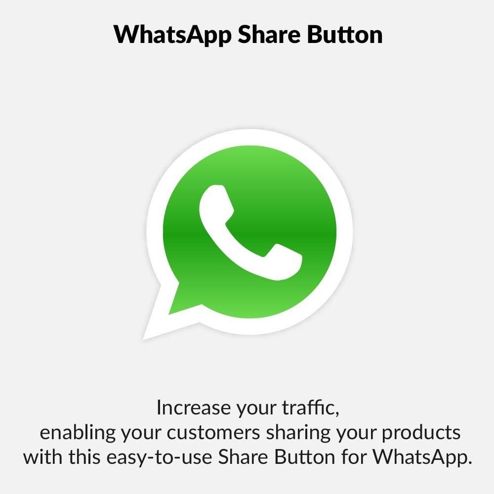 module - Boutons de Partage & Commentaires - WhatsApp Share Button - 1