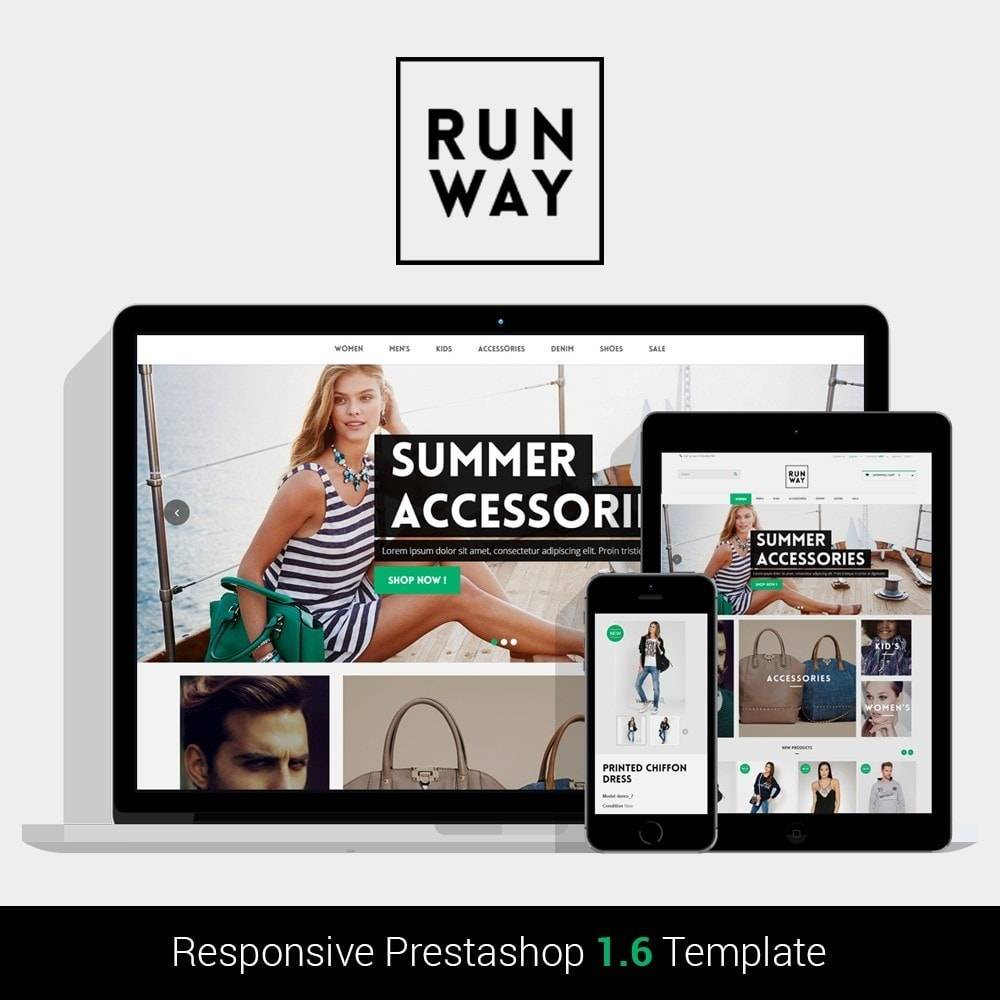 theme - Mode & Chaussures - Runway Fashion Responsive Prestashop 1.6 - 1
