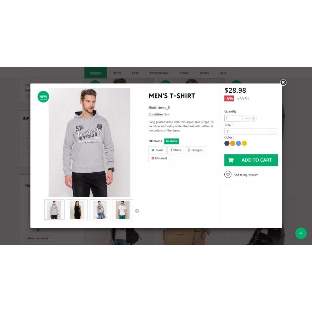 theme - Mode & Schoenen - Runway Fashion Responsive Prestashop 1.6 - 8