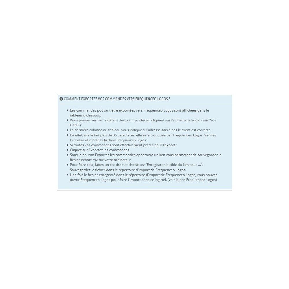 module - Préparation & Expédition - Prestashop Frequenceo Logos - 2