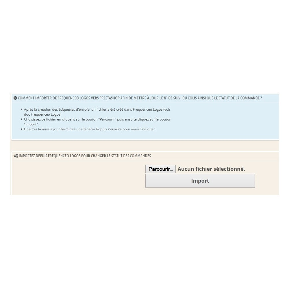module - Préparation & Expédition - Prestashop vers Frequenceo Logos - 4
