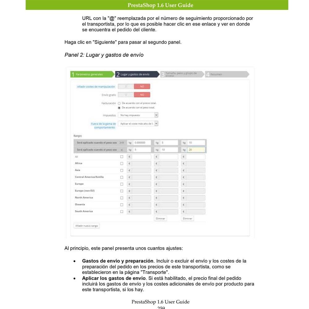 other - Guía del usuario - Guía del usuario PrestaShop 1.6 - 3