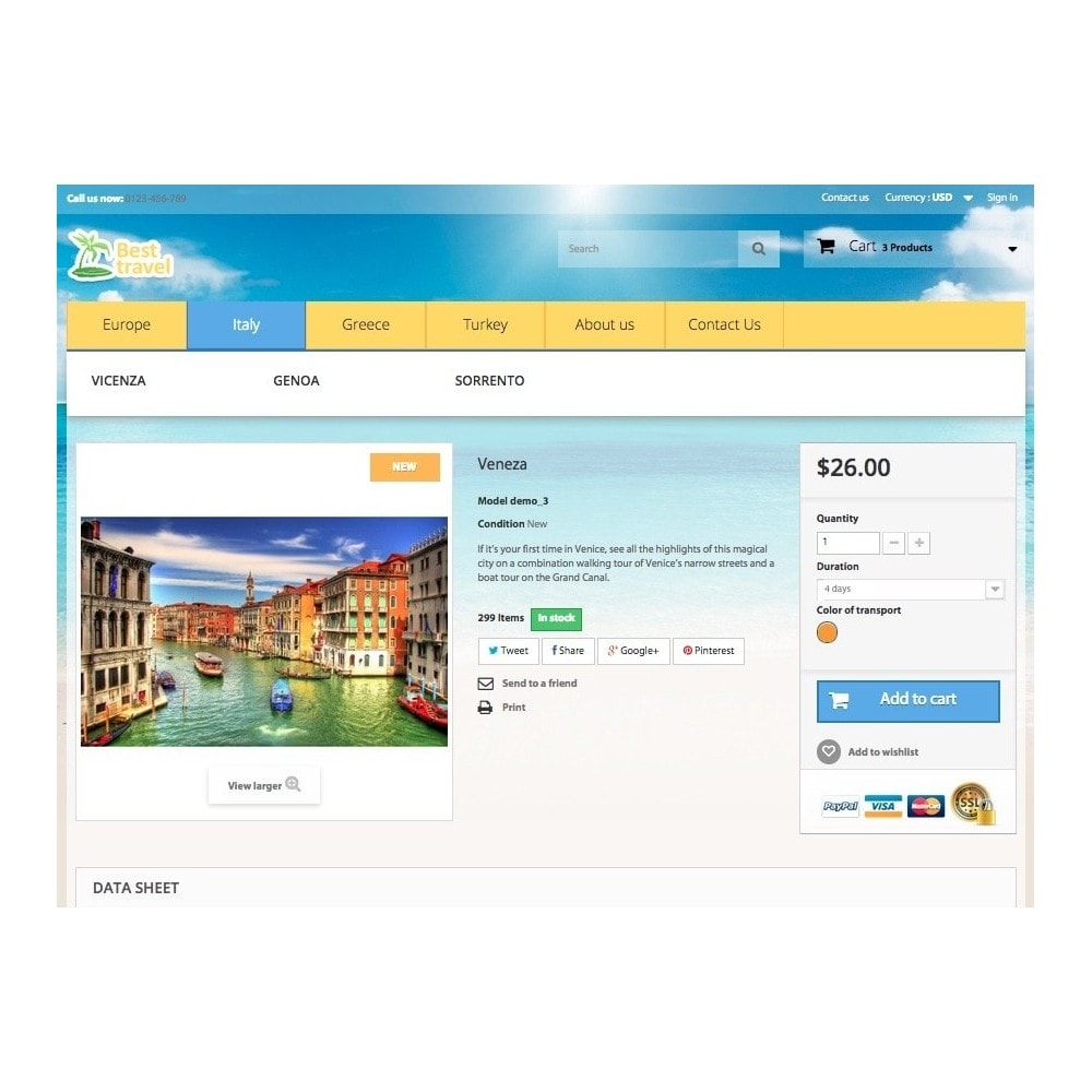 theme - Sports, Activities & Travel - Best Travel 1.6 Responsive - 8