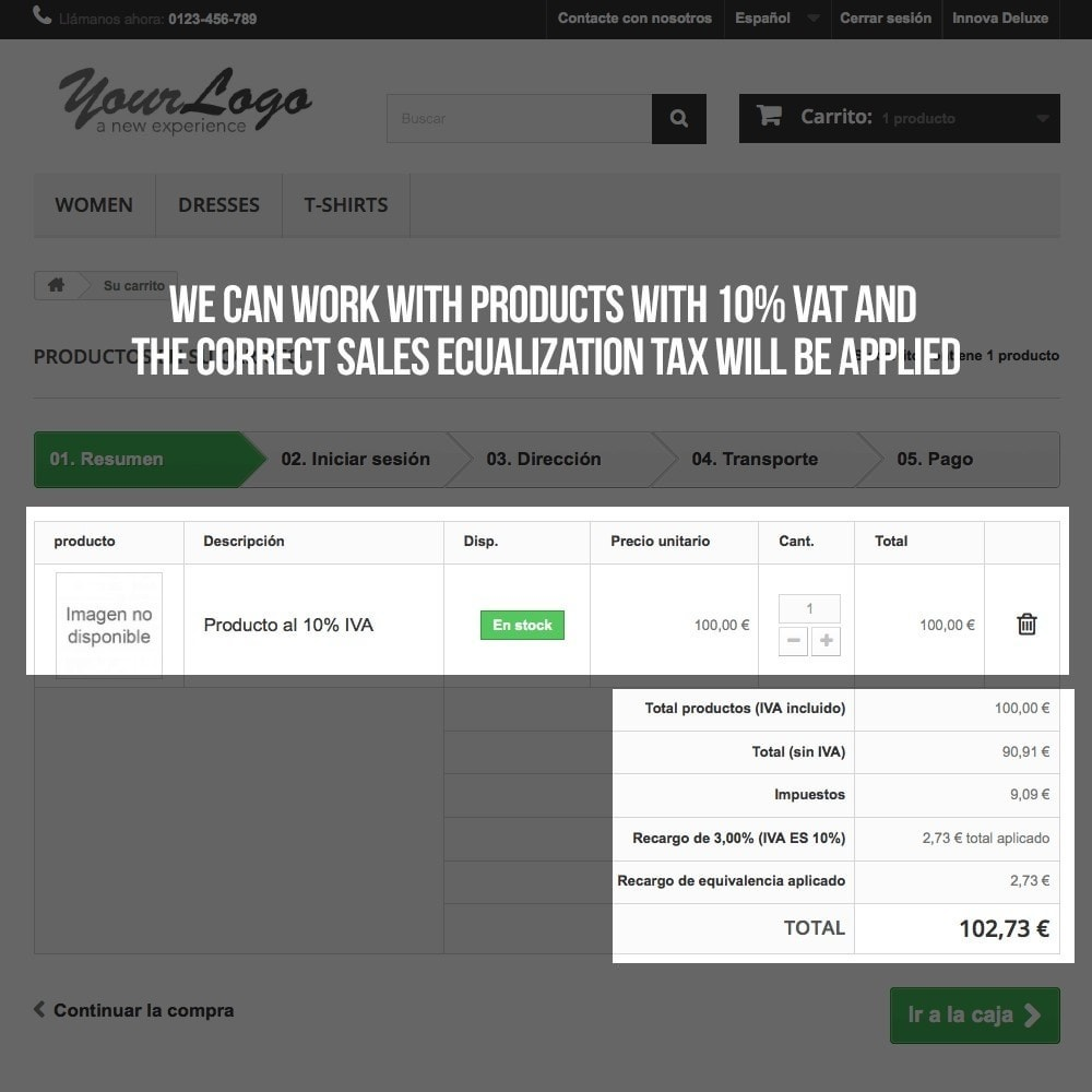 module - B2B - Applying sales equalization tax to orders and invoices - 14