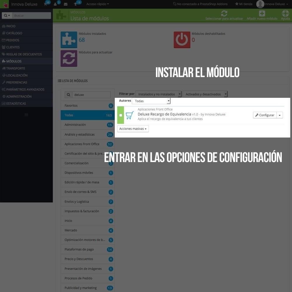 module - B2B - Aplicar Recargo de equivalencia a pedidos y facturas - 2