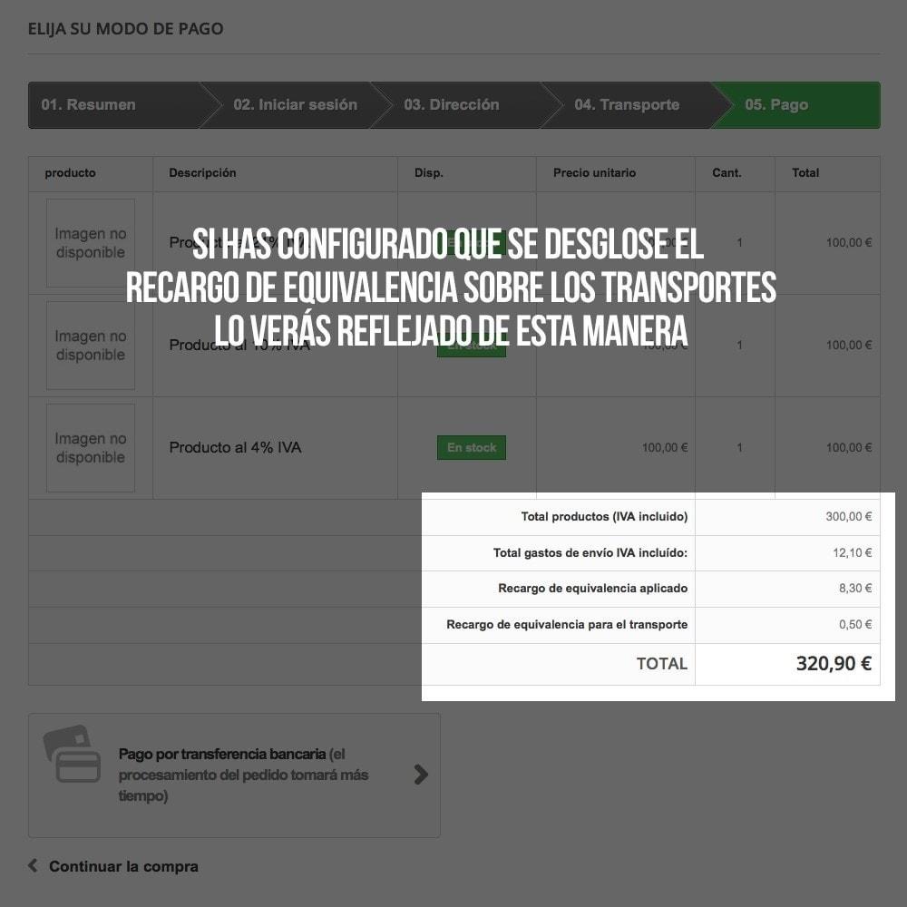 module - B2B - Aplicar Recargo de equivalencia a pedidos y facturas - 20
