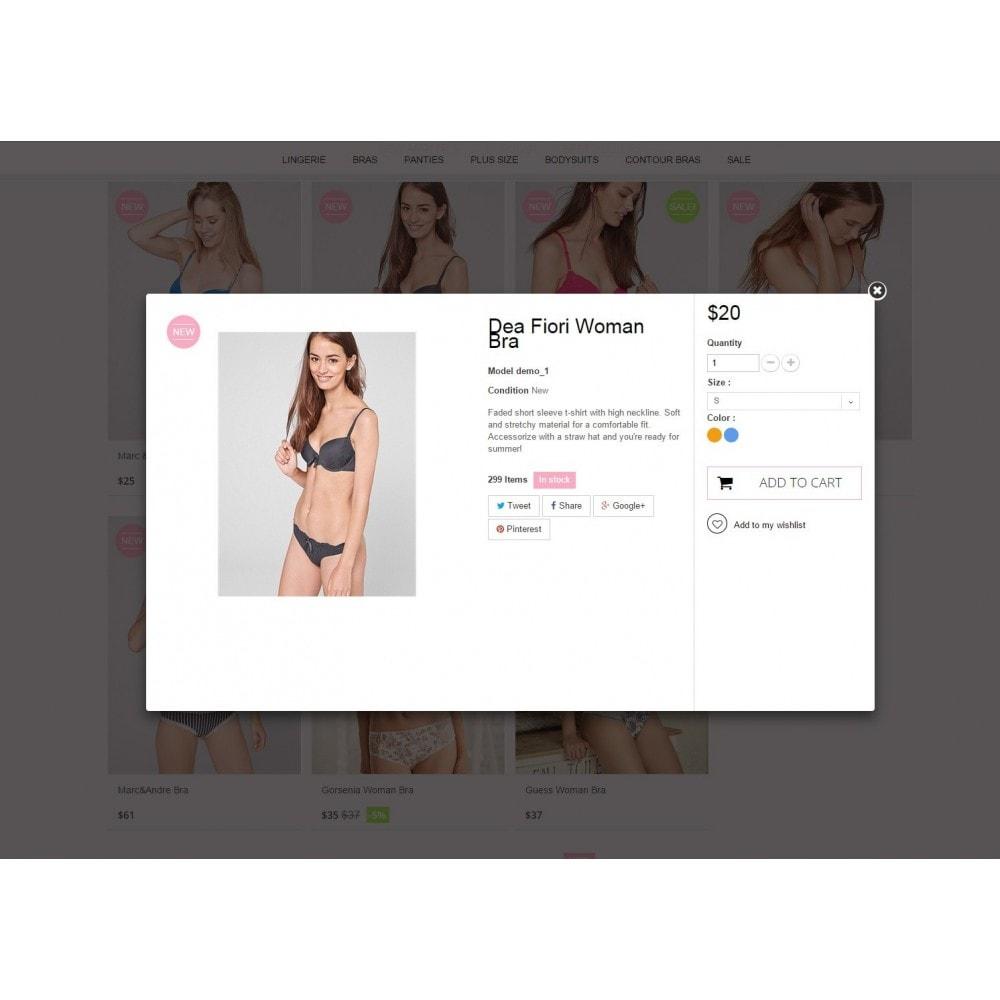 theme - Lingerie & Erwachsene - Underwear Prestashop 1.6 Responsive - 7