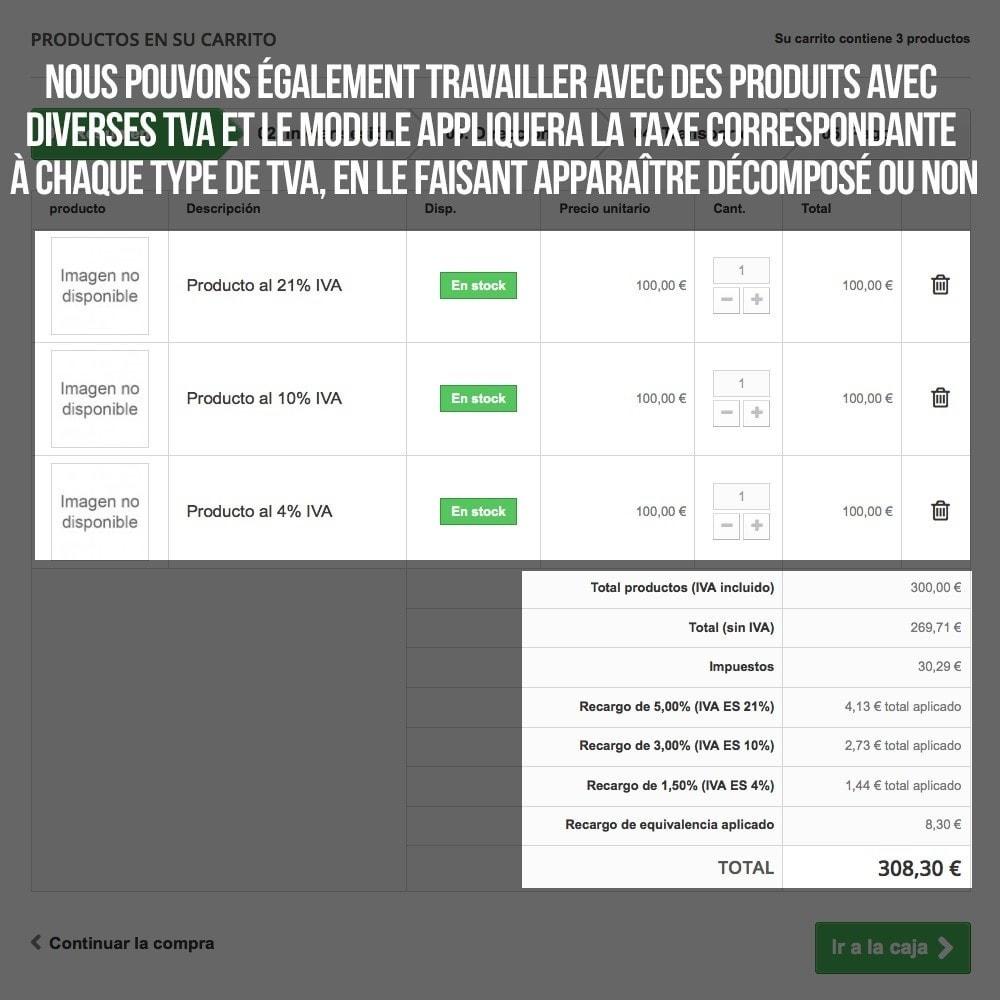 module - B2B - Appliquer Taxe d'égalisation aux commandes et factures - 16