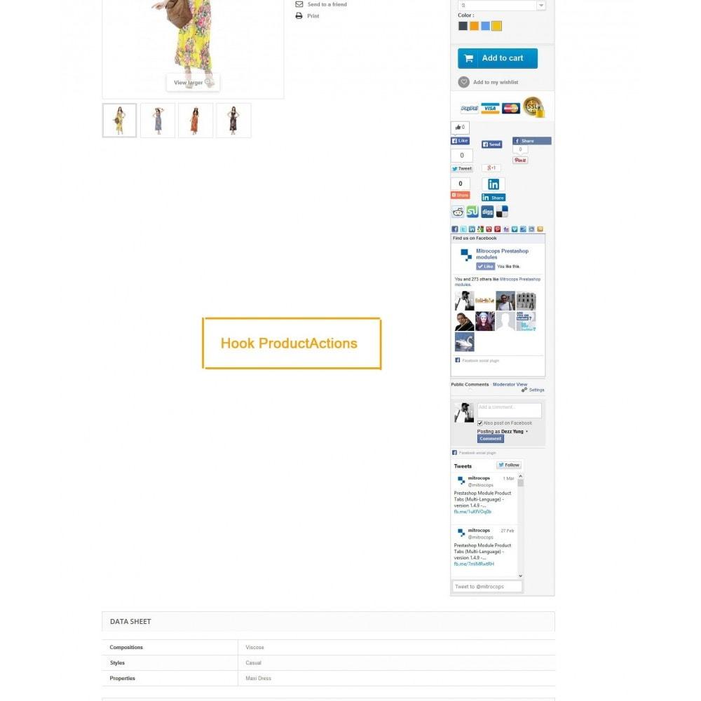 module - Deelknoppen & Commentaren - Social Constructor (Share and Follow) - 12
