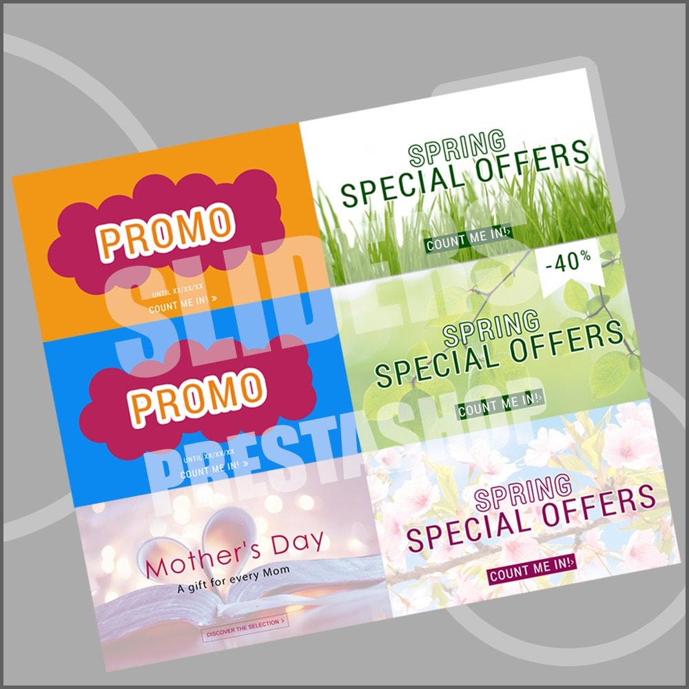 other - Graphics for Sales - 10 Promo graphics - SPRING - 1