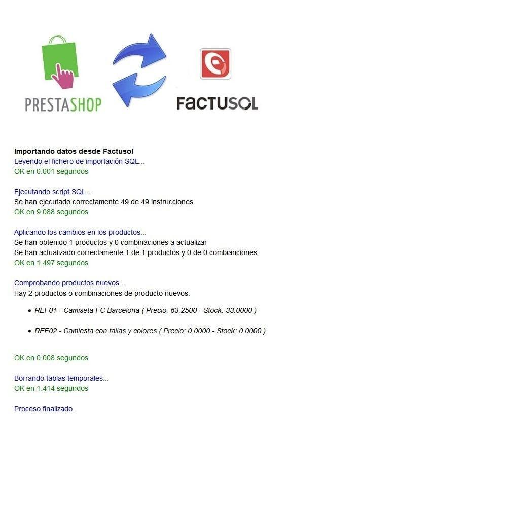 module - Integración con CRM, ERP... - Conector FactuSOL BÁSICO - 5