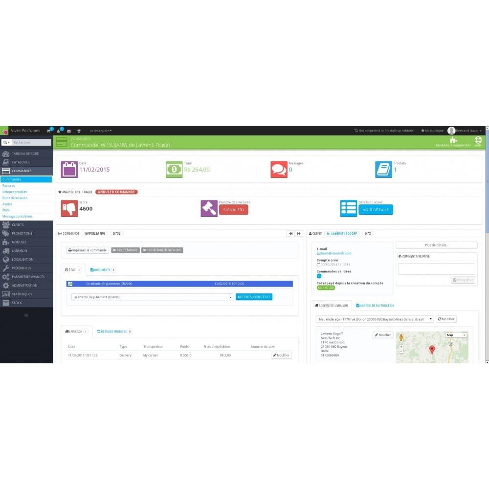 module - Sécurité & Accès - Anti-Fraude - Détection de fraudes e-commerce - 4