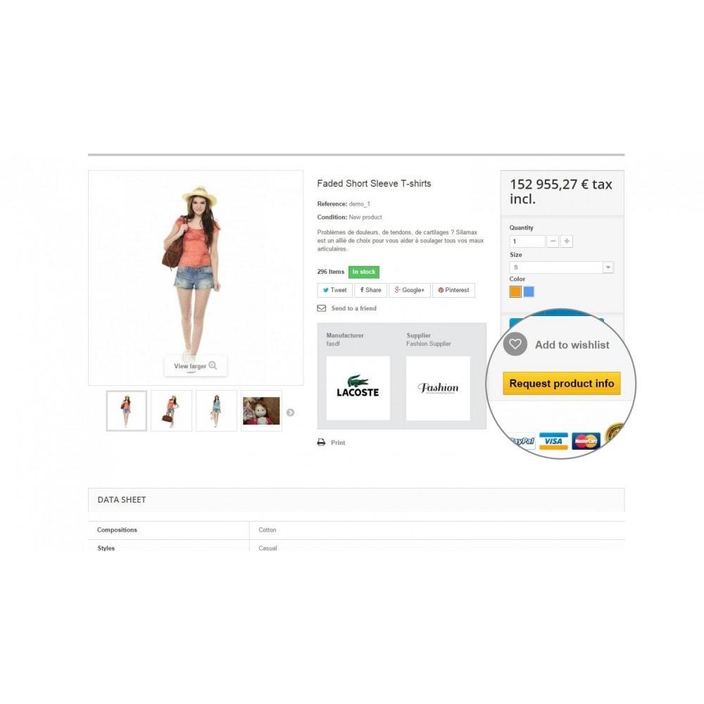 module - Formulario de contacto y Sondeos - Request Product Info - 3