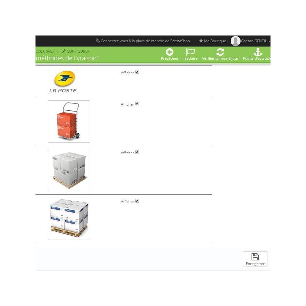 module - Etiquettes & Logos - Logos des modes de livraisons - 3