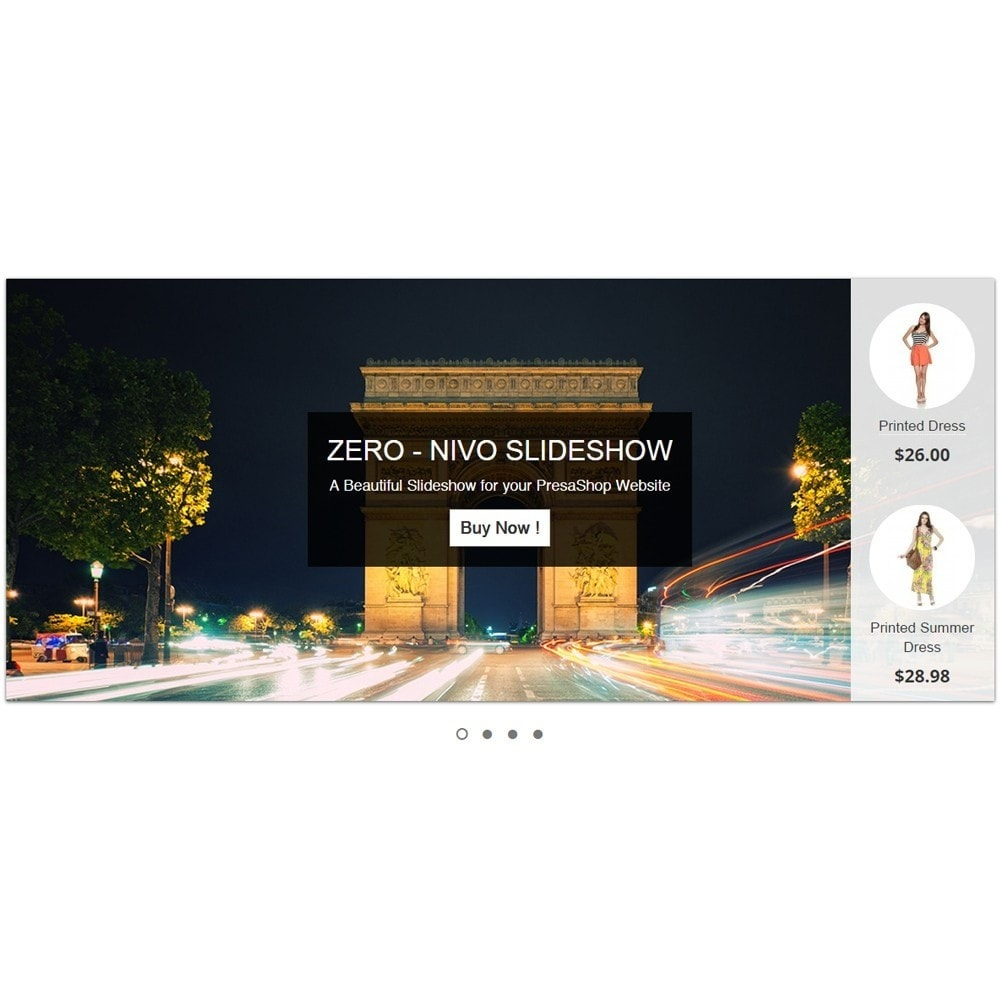 module - Slider & Gallerie - Amazing Slideshow and Products - Zero Nivo Slideshow - 2