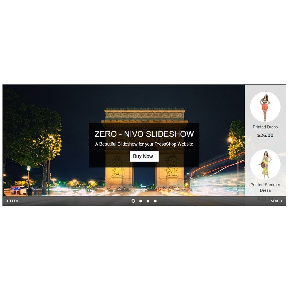 module - Sliders & Galeries - Amazing Slideshow and Products - Zero Nivo Slideshow - 3