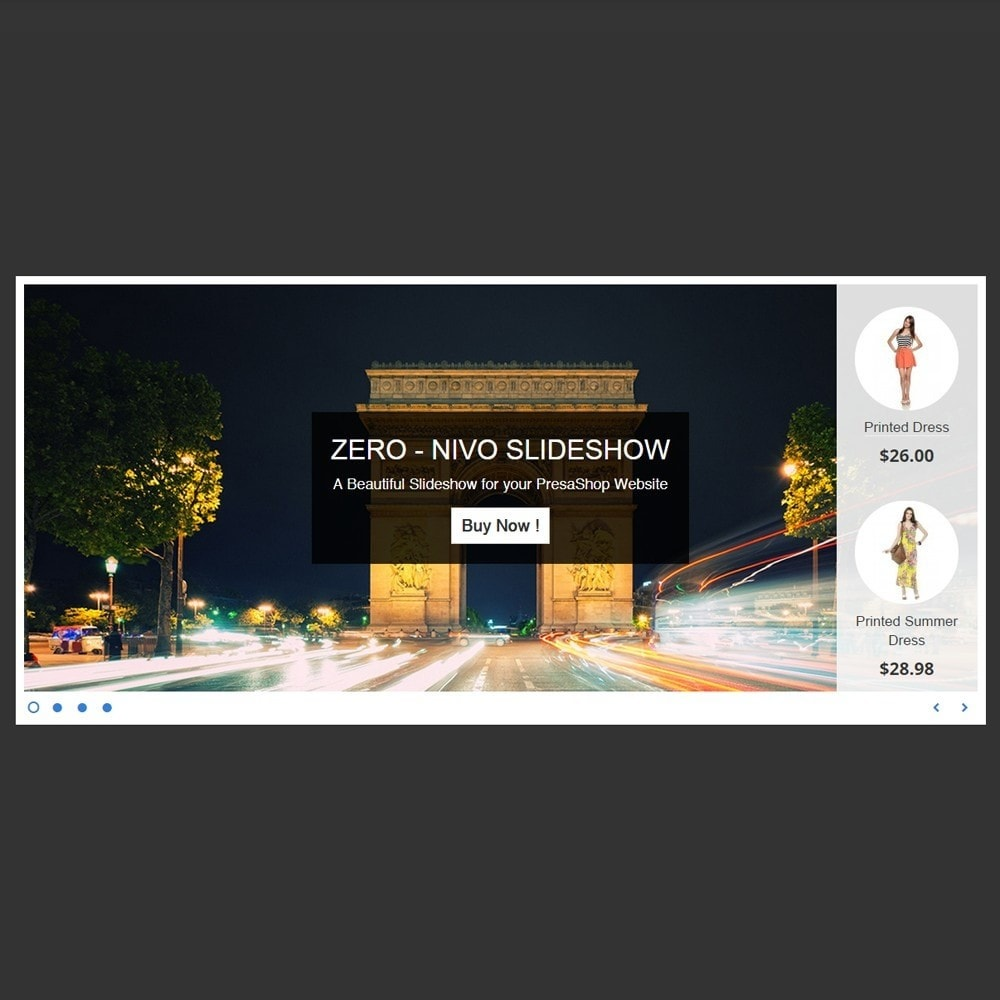 module - Slider & Gallerie - Amazing Slideshow and Products - Zero Nivo Slideshow - 5