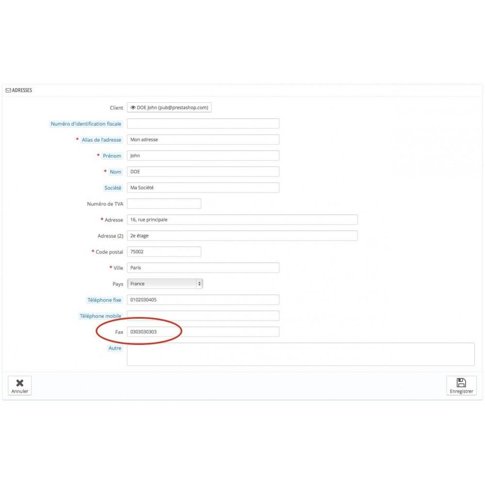 module - E-mails & Notifications - Facture par email et/ou fax - 2