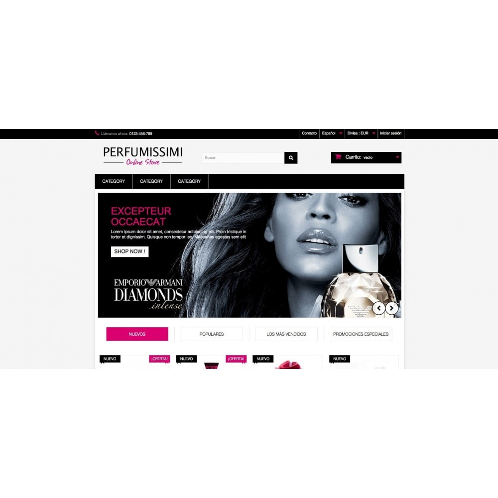 theme - Salud y Belleza - Perfumissimi Online Store - 2