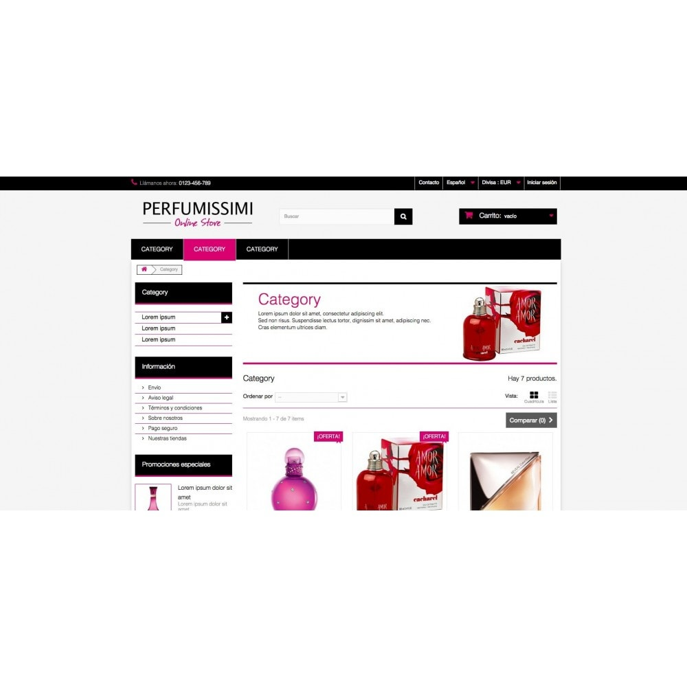 theme - Salud y Belleza - Perfumissimi Online Store - 5