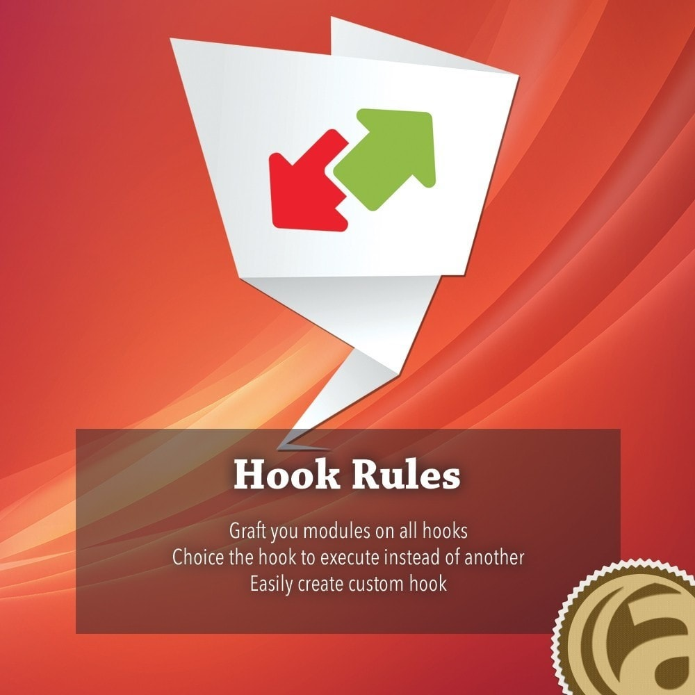 module - Administratieve tools - Hook Rules - 1