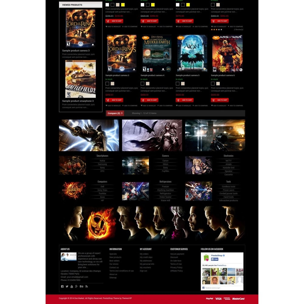 theme - Electronics & Computers - Responsive Best Games Prestashop Theme - 3