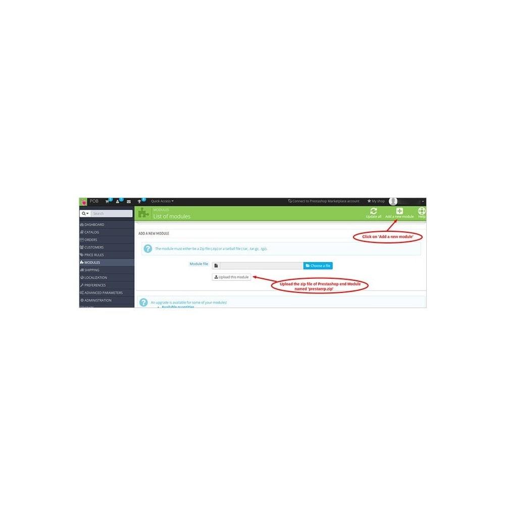 module - Datenabbindungen zu Drittsystemen (CRM, ERP, ...) - Odoo - OpenERP Bridge - 11