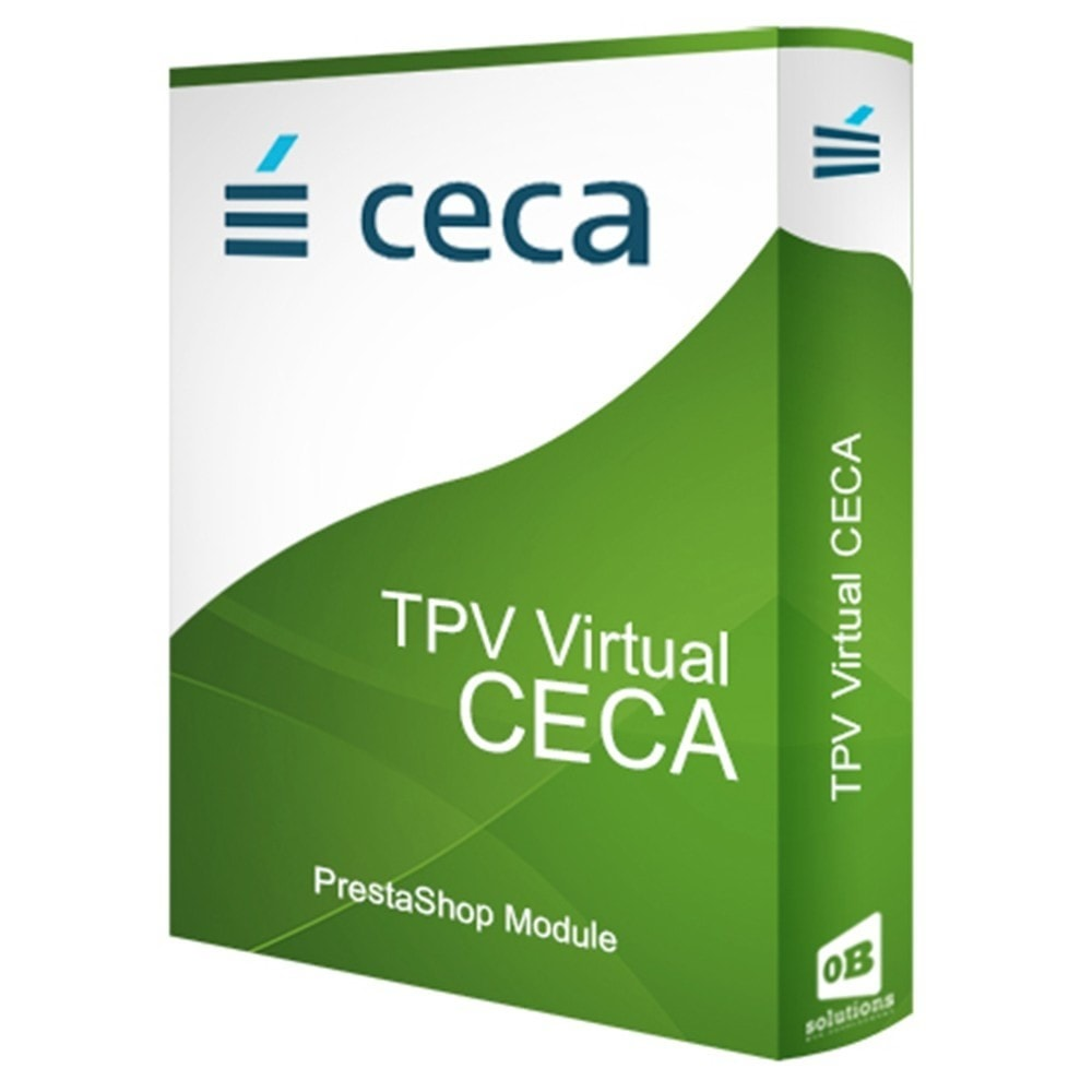 module - Pago con Tarjeta o Carteras digitales - TPV CECA COMPLETO (Pago seguro, Devoluciones, SHA256) - 1
