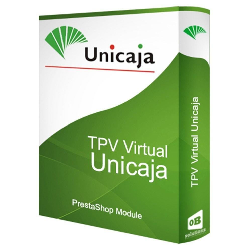 module - Pago con Tarjeta o Carteras digitales - TPV Virtual Unicaja - 1