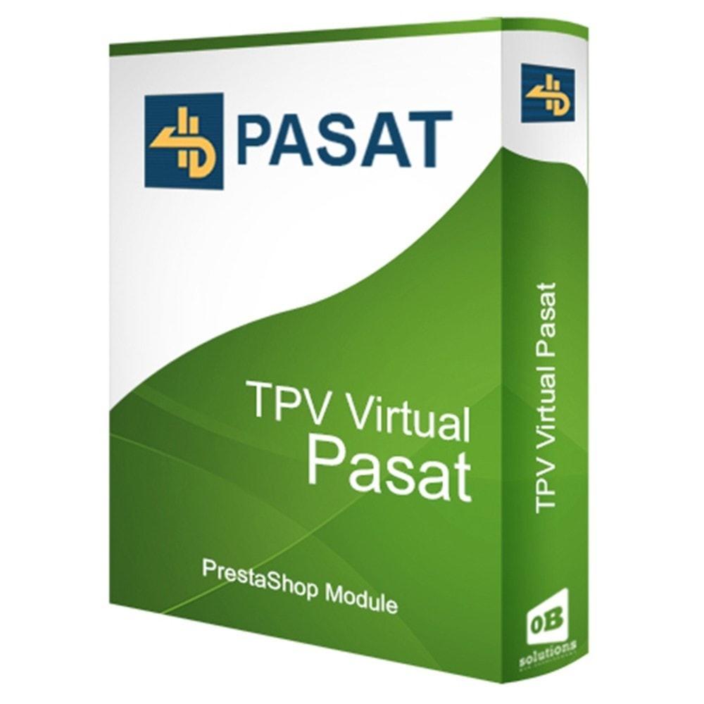 module - Pago con Tarjeta o Carteras digitales - TPV Virtual Pasat 4B - 1