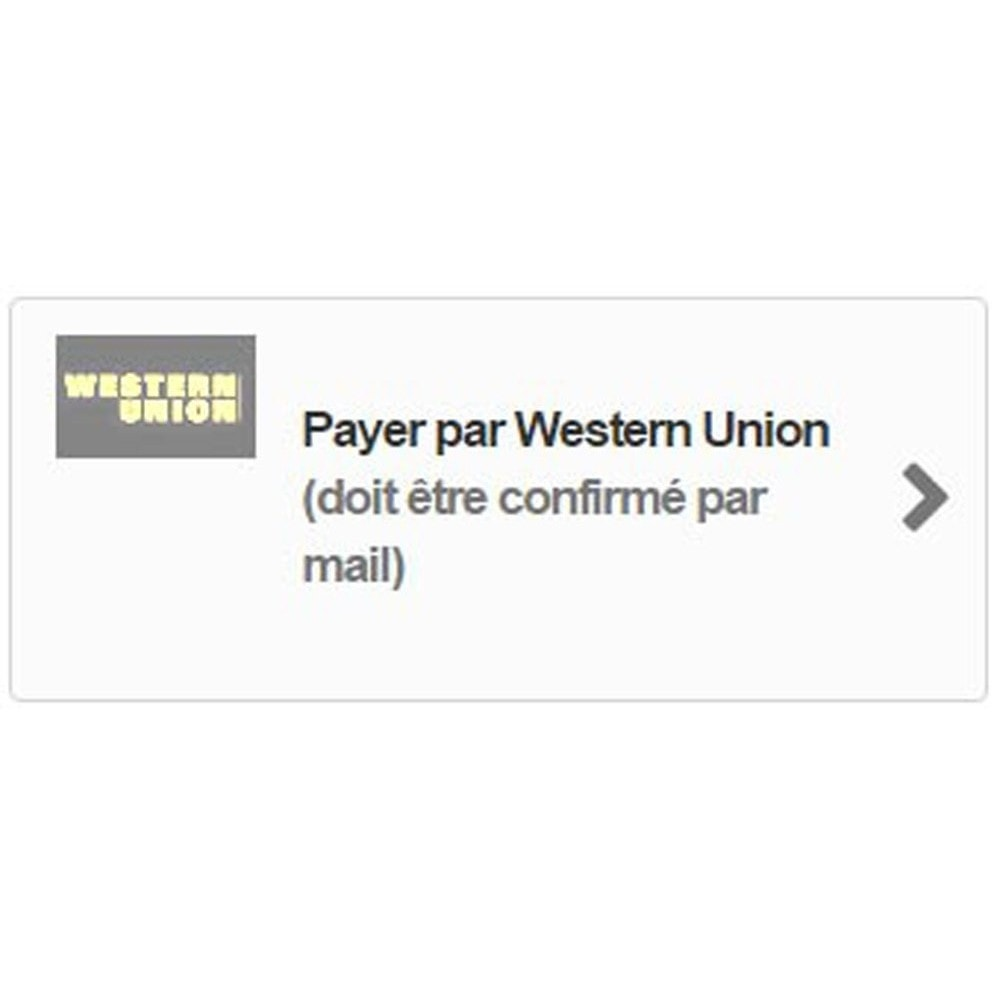 module - Other Payment Methods - Western Union Payment - 2