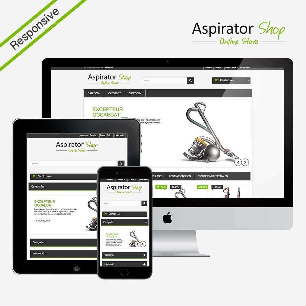 theme - Elektronica & High Tech - Aspirator Shop - 1