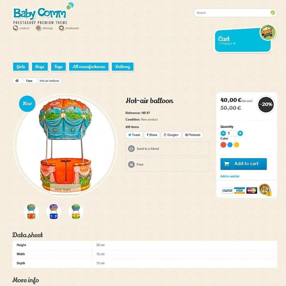theme - Дети и Игрушки - Baby Comm Responsive - 7