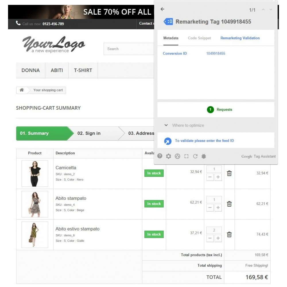 module - Remarketing & Shopping Cart Abandonment - PD Google Dynamic Remarketing Pro - 3