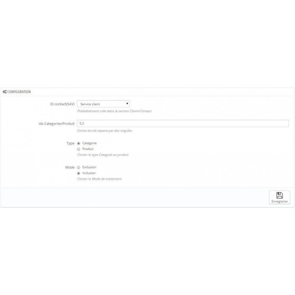 module - Formulaires de Contact & Sondages - Renseignements, questions, devis sur un produit - 3