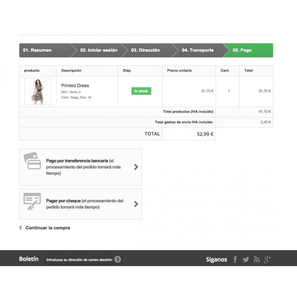 module - Otros métodos de pago - Restricción de pagos por envío - 3