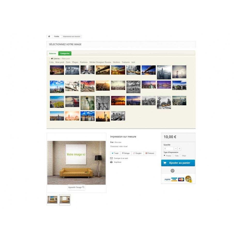 module - Visuels des produits - Fotolia Business API - 2