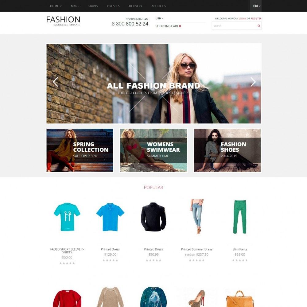 theme - Мода и обувь - Fashion -  Магазин Модной Одежды - 2