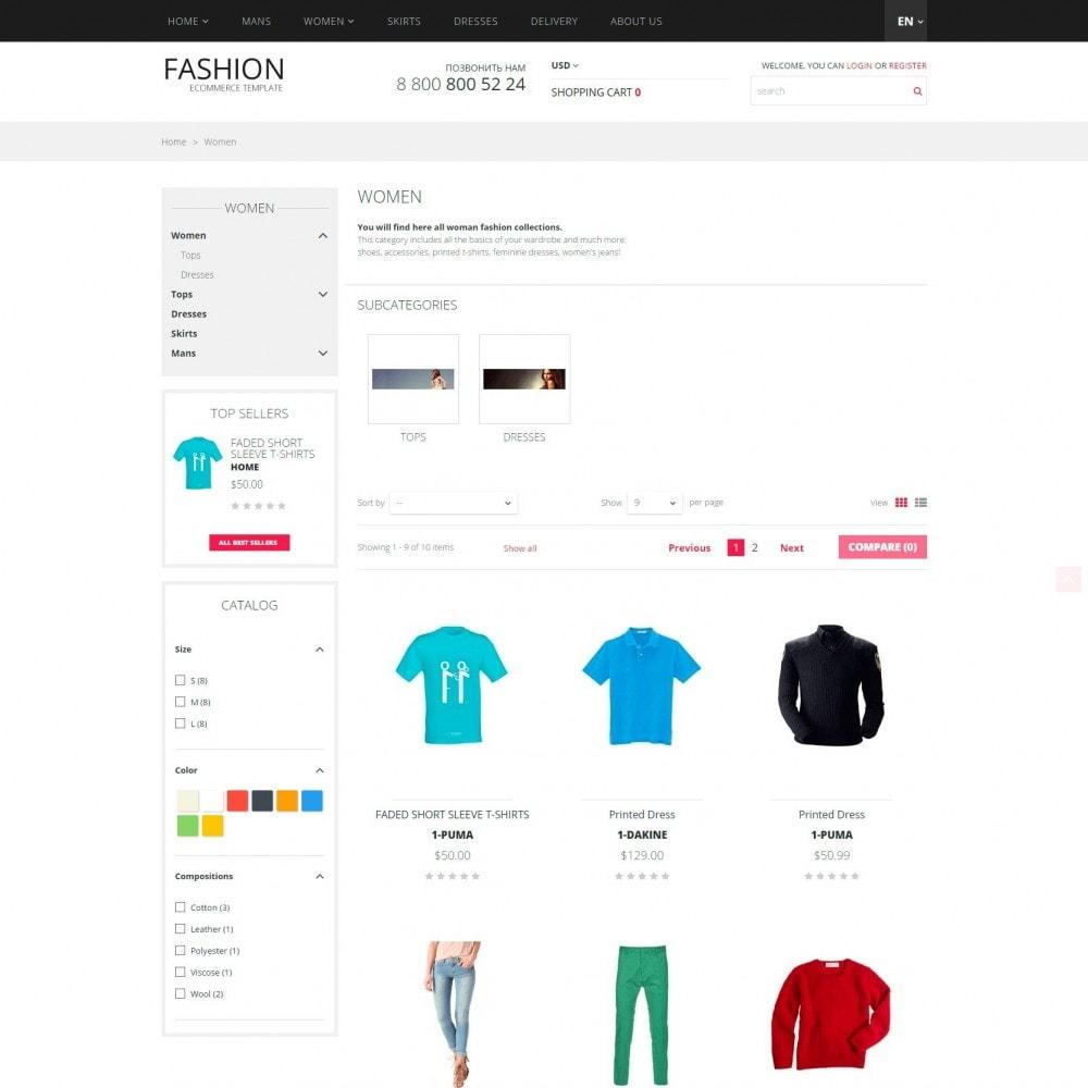 theme - Мода и обувь - Fashion -  Магазин Модной Одежды - 3