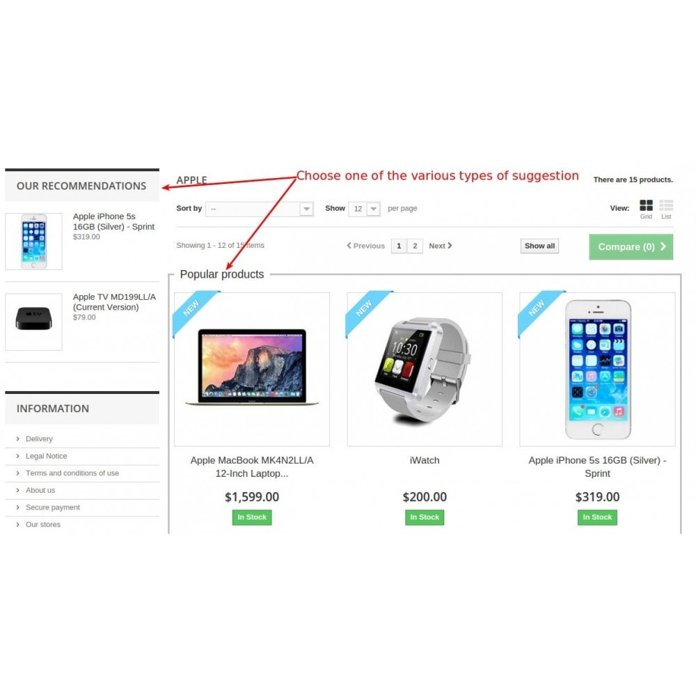 module - Cross-selling & Product Bundles - Smart suggest products / Related, Cross-sell, Recommend - 16