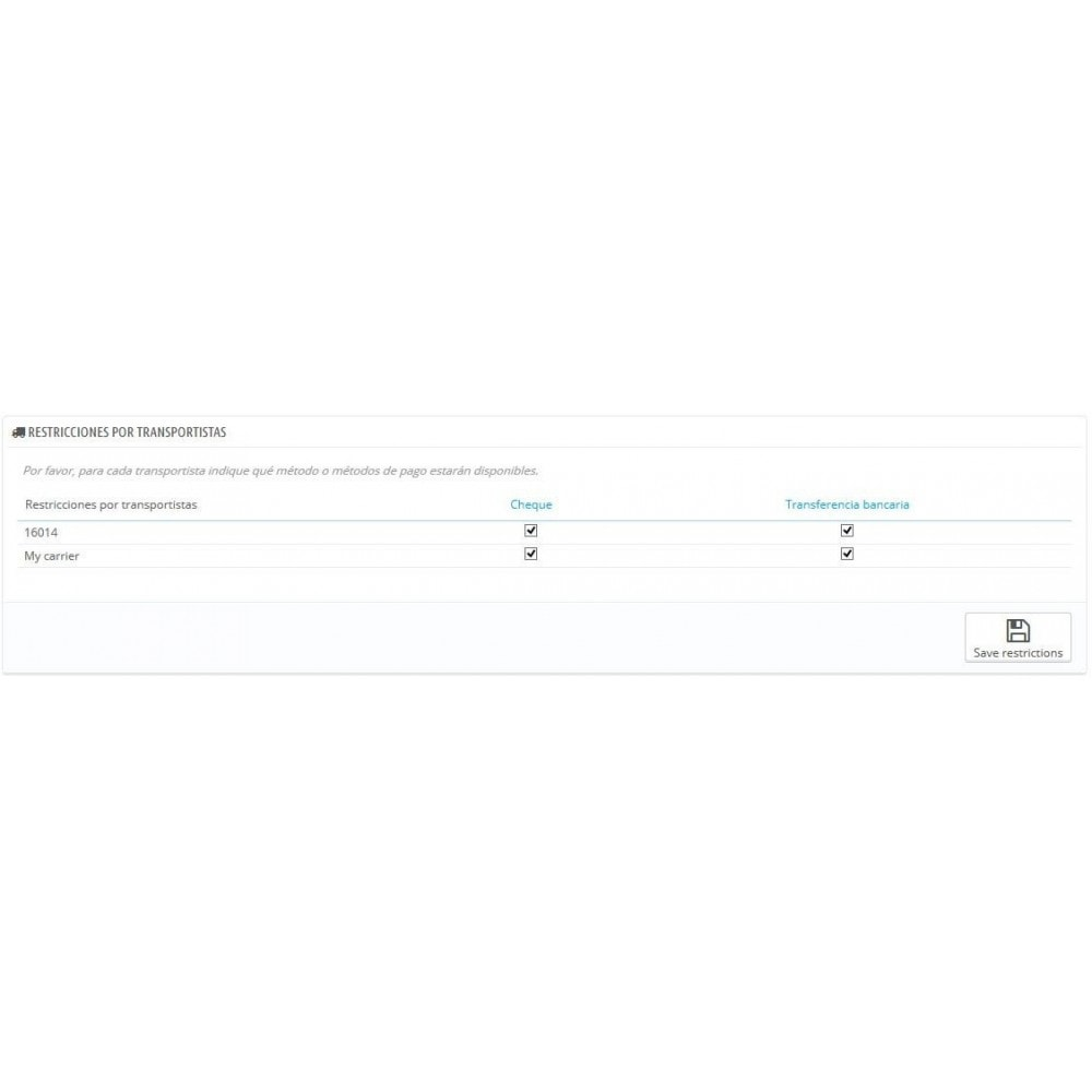 module - Otros métodos de pago - Advanced Payment Filters - Filtro avanzado de Pagos - 2