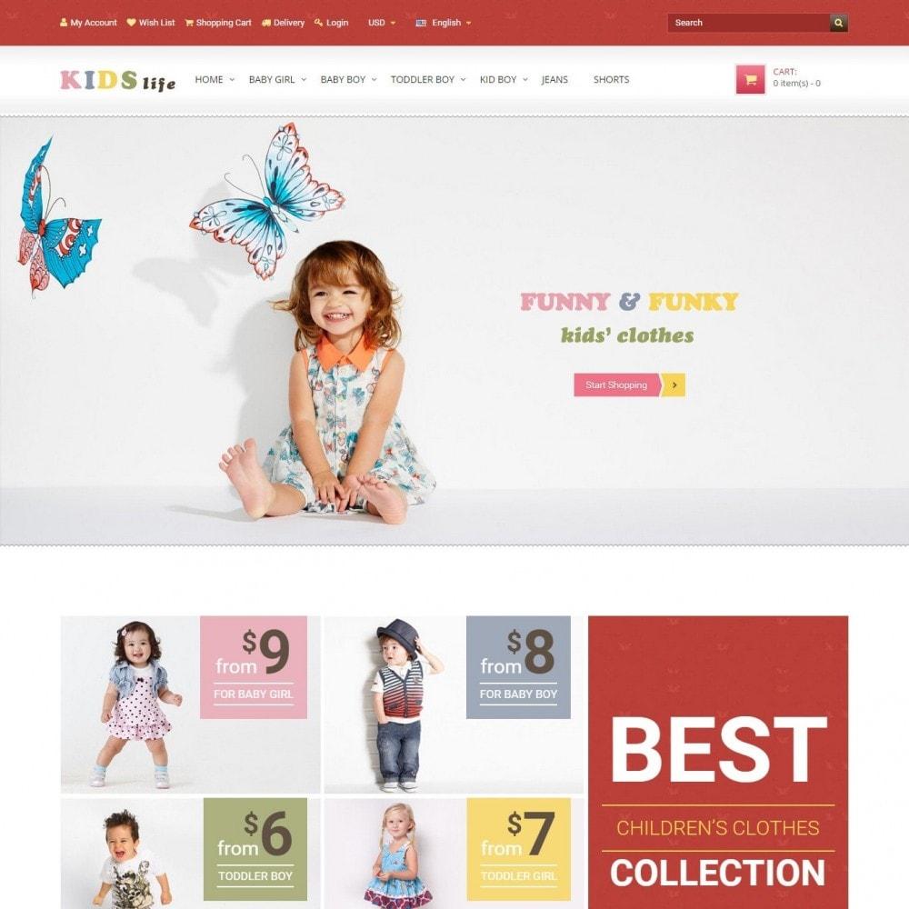 theme - Дети и Игрушки - Kids - Магазина Детской Одежды - 2