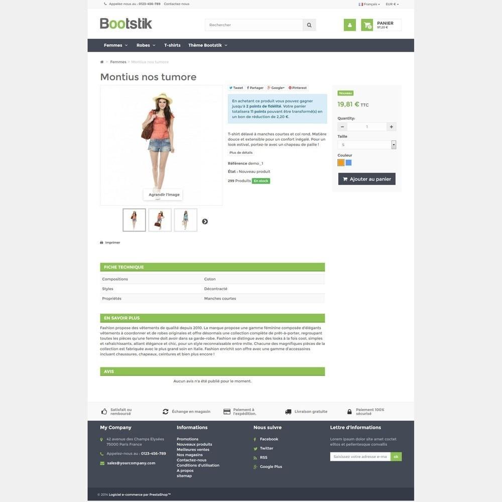 theme - Мода и обувь - Bootstik Responsive Theme - 5