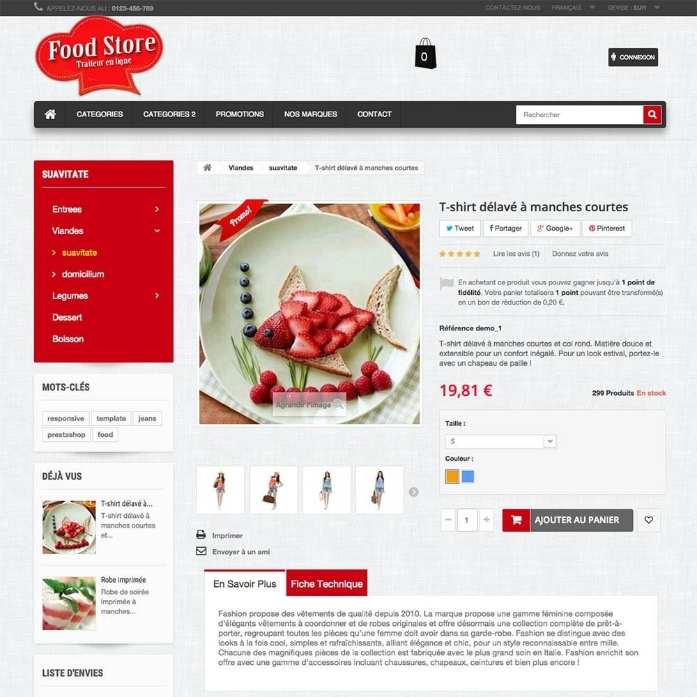 theme - Food & Restaurant - FoodStore - 2