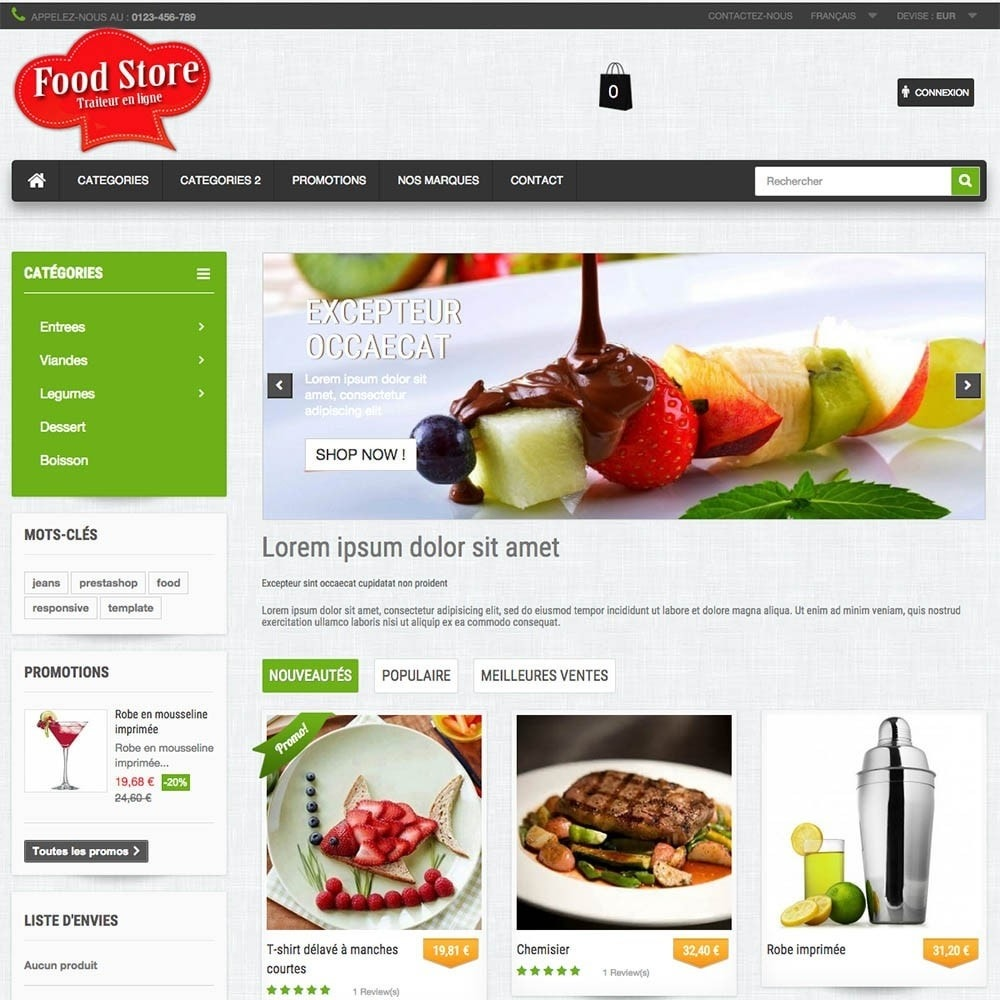 theme - Food & Restaurant - FoodStore - 4