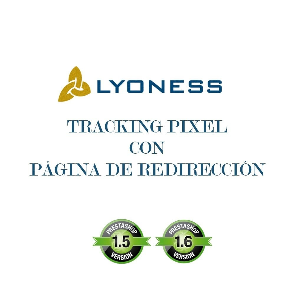module - Informes y Estadísticas - Lyoness Tracking Pixel con página de redirección - 3