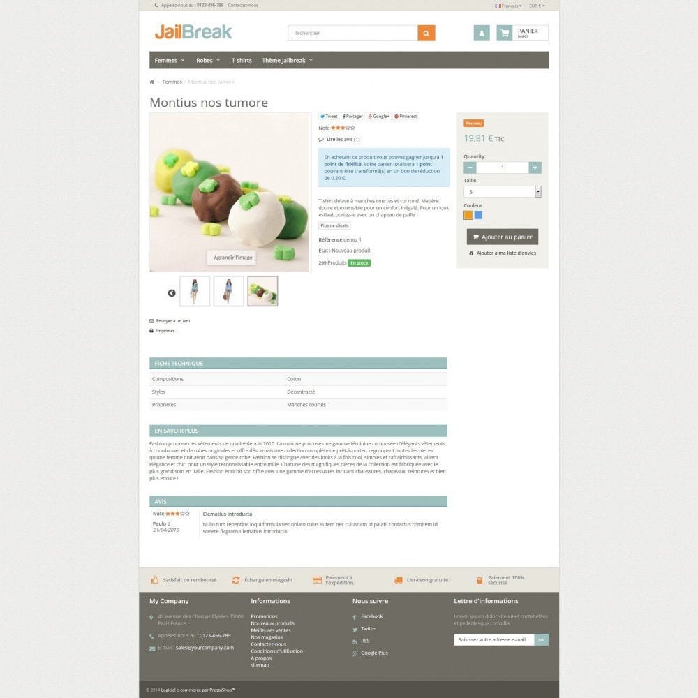 theme - Lebensmittel & Restaurants - Jailbreak Responsive - 4