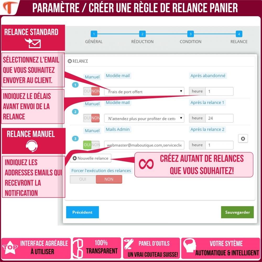 module - Remarketing & Paniers Abandonnés - Smart Cart Reminder / Relance Panier Intelligent - 24