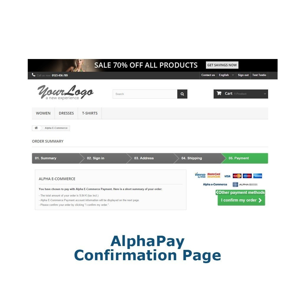 module - Payment by Card or Wallet - AlphaPay - 5